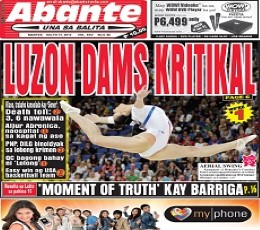 Abante Newspaper Today