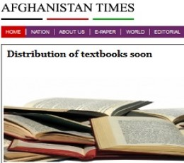 Afghanistan Times Daily Epaper