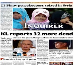Philippine Daily Inquirer Epaper